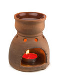 Aromatherapy oil burner Stock Image