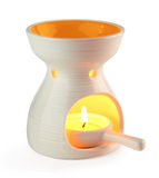 Aromatherapy oil burner Stock Photo
