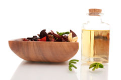 Aromatherapy oils Stock Photo