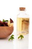 Aromatherapy oils Stock Photography