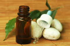 aromatherapy olja Royaltyfria Foton