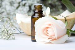 aromatherapy olja Arkivfoto