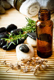 aromatherapy olja Arkivbilder