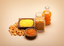 Aromatherapy - Orange bath salt Stock Photo