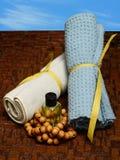 Aromatherapy outdoors Stock Photo