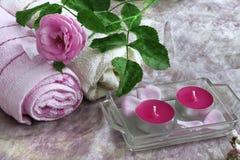 Aromatherapy pojęcie Obraz Royalty Free