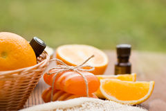 aromatherapy products spa Στοκ εικόνα με δικαίωμα ελεύθερης χρήσης