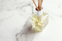 Aromatherapy reed diffuser air freshener horizontal Royalty Free Stock Photography