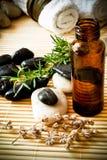 Aromatherapy Schmieröl Stockbilder