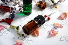 Aromatherapy and science Stock Images