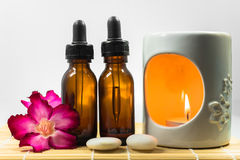 Aromatherapy set Royalty Free Stock Photography