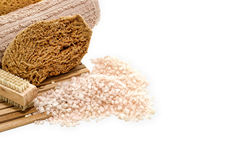 aromatherapy skąpanie soli zdrój Obrazy Stock