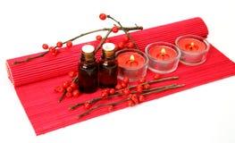 Aromatherapy, SPA, μασάζ Στοκ Φωτογραφίες