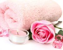 Aromatherapy, SPA, μασάζ Στοκ Εικόνα