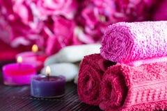 Aromatherapy Spa ρύθμιση Στοκ φωτογραφία με δικαίωμα ελεύθερης χρήσης
