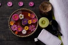Aromatherapy spa σαλόνι, κορυφή Στοκ Εικόνες