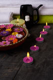 Aromatherapy spa σαλόνι Στοκ Εικόνα