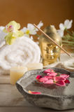 Aromatherapy and spa royalty free stock photography