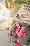 Aromatherapy and spa royalty free stock images