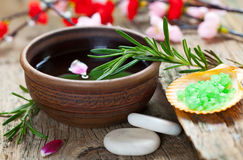 Aromatherapy.Spa Stock Afbeelding