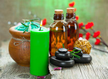 Aromatherapy.Spa Royalty Free Stock Photos