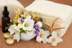 Flower Spa Treatment Royalty Free Stock Photography