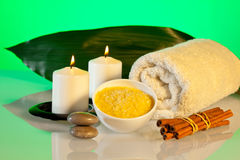 Aromatherapy and spa composition Royalty Free Stock Photo