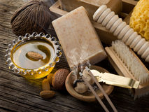 Aromatherapy and spa concept royalty free stock photo