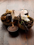 Aromatherapy spa concept Stock Photography