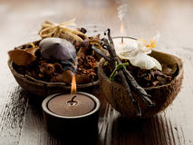Aromatherapy spa concept Royalty Free Stock Image