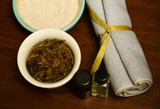 Aromatherapy at spa Royalty Free Stock Photography