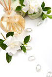 Aromatherapy spa set Royalty Free Stock Photos