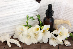 Aromatherapy Spa Treatment Royalty Free Stock Photo