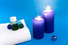 aromatherapy stearinljuslampa Royaltyfri Bild