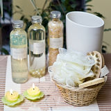 Aromatherapy still life Stock Photography