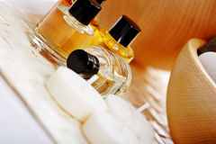 Aromatherapy treatment royalty free stock photos