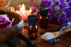 Aromatherapy treatment Stock Images