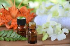 Aromatherapy treatment Royalty Free Stock Photo