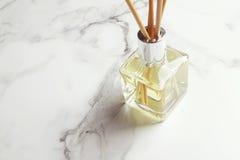 Aromatherapy trzcinowego dyfuzoru lotniczy freshener horyzontalny Fotografia Royalty Free