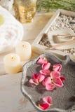 Aromatherapy und Badekurort lizenzfreie stockbilder