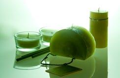 aromatherapy świece. Fotografia Royalty Free