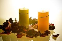 aromatherapy świece. Obraz Royalty Free