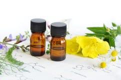 Aromatherapy y ciencia imagenes de archivo