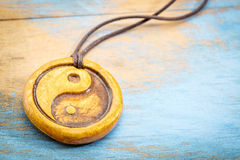 Aromatherapy yin και yang κρεμαστό κόσμημα Στοκ Εικόνες