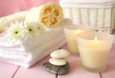 Aromatherapy zdroju traktowanie Fotografia Royalty Free