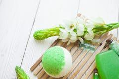Aromatherapy zielony pojęcie zdjęcie royalty free