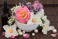 Aromatherapybehandling Royaltyfria Bilder