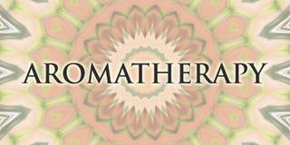 Aromatherapydesign Royaltyfri Foto