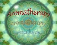 Aromatherapydesign Royaltyfri Bild