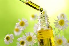 Aromatherapyessentie royalty-vrije stock afbeelding